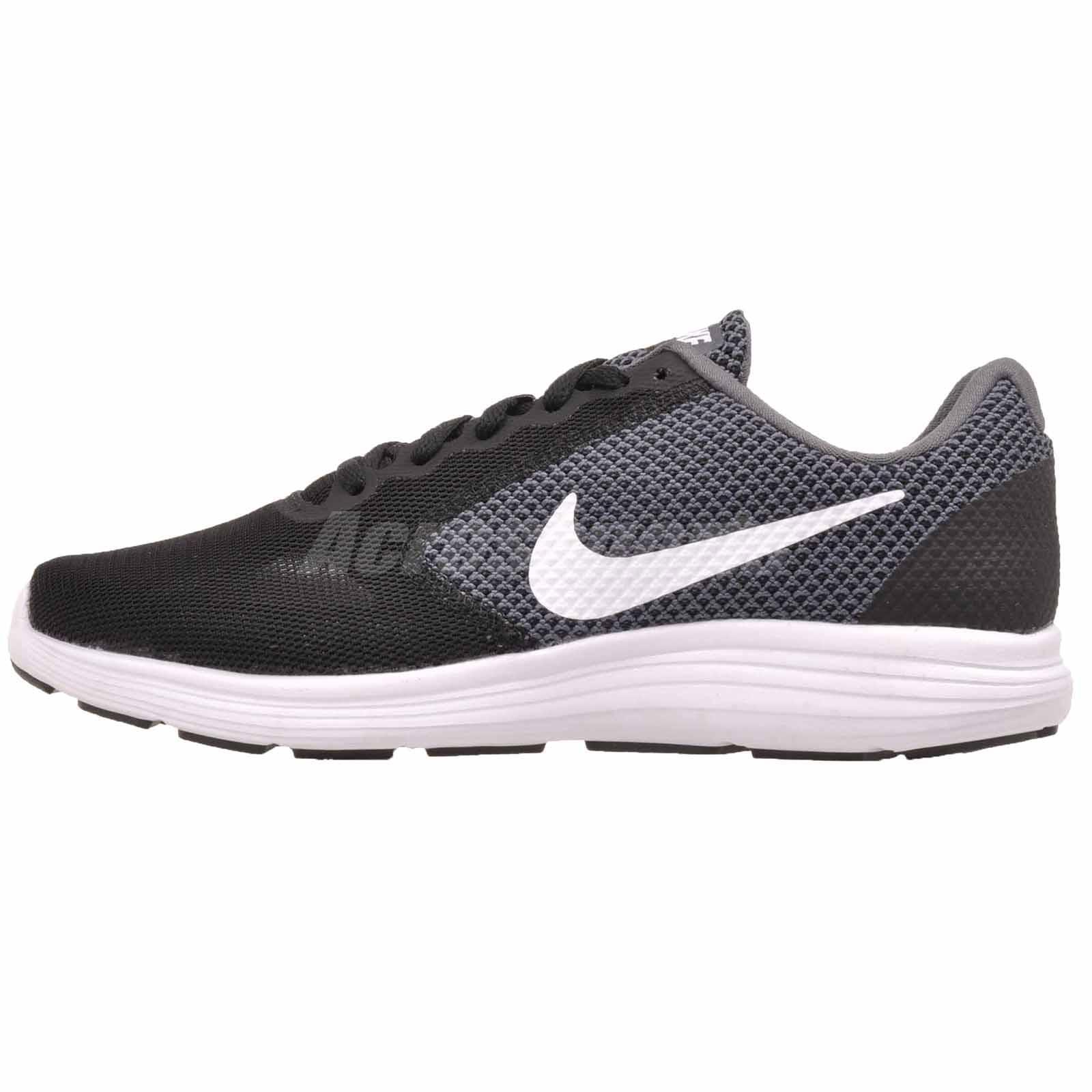 Nike Wmns Revolution 3 W Running shoes Dark Grey Wide 819302-001