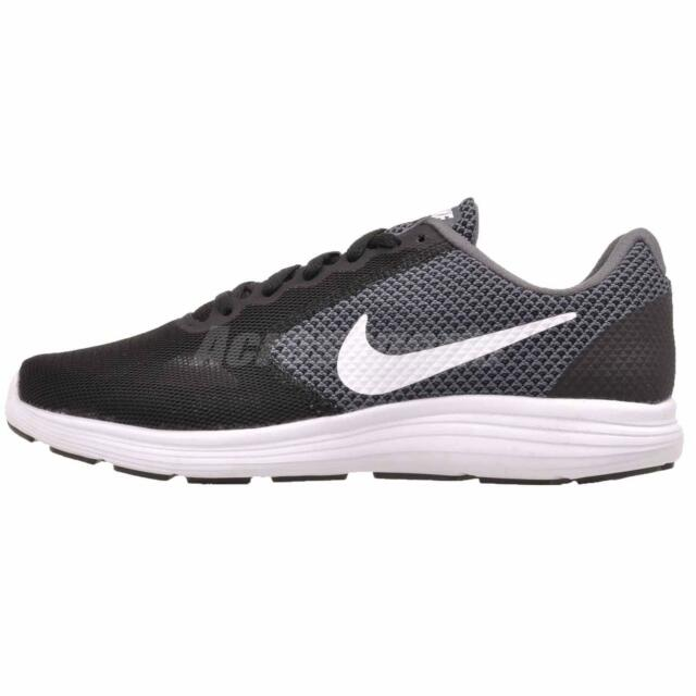 4337f93a6b15 Nike WMNS Revolution 3 Wide 819302-001 Black Anthracite Womens US ...