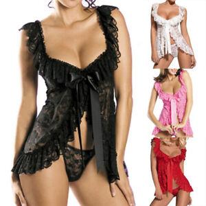Femmes-lingerie-sexy-avant-jeux-ouverts-dentelle-vetements-de-Vo