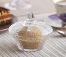 1 x Retro Style Candy Jar | Sugar Bowl | Wedding Favour Gift 11 cm high Queen
