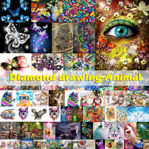 Partial-Drill-5D-Animal-Pet-Diamond-Painting-Embroidery-DIY-Cross-Stitch-Kit-Art