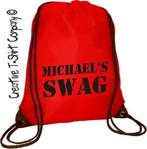 personalised swag bag great idea for fancy dress halloween stag or
