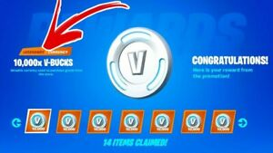 100000 Fortnite Vbucks Card ALL Devices | eBay