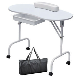 Image Is Loading Foldable Portable Mobile Manicure Nail Table Beauty Salon