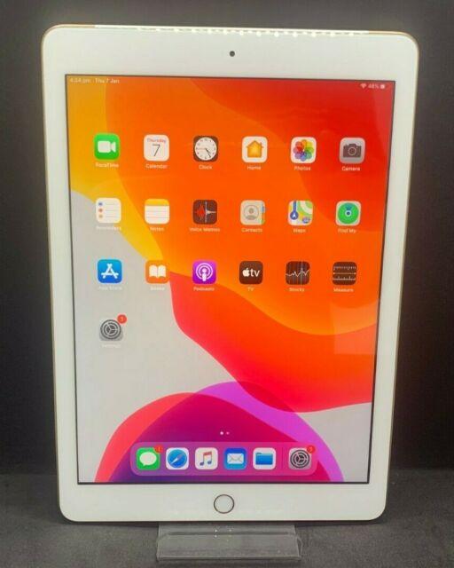 Apple iPad 5th Gen. 32GB, Wi-Fi + Cellular (Unlocked), 9.7in - Gold (AU Stock)