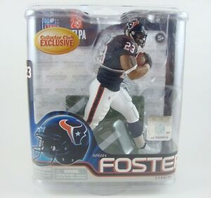 McFarlane NFL Series 31 Arian Foster Collectors Club Exclusive Houston Texans