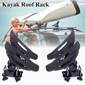 AU Stock Universal Kayak Carrier Saddle Watercraft Roof Rack Arm Canoe Loader