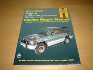 mitsubishi montero 1983 repair service manual