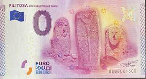 BILLET-0-EURO-FILITOSA-CORSE-FRANCE-2015-NUMERO-1600