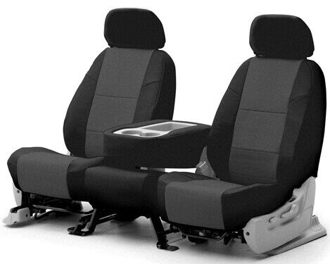 Coverking Synthetic Leather Tailored Seat Covers for Ford Transit