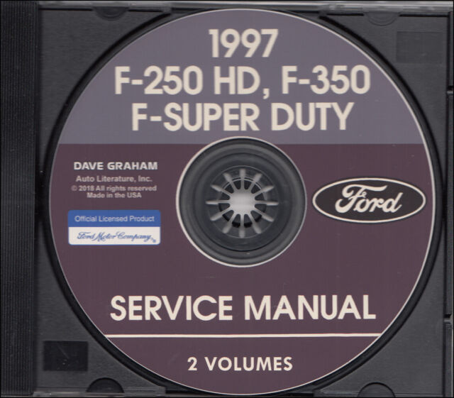 1997 Ford Truck F150 F250 F350 Super Duty Service Manual