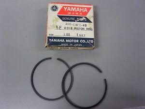 NOS Yamaha Piston Rings 1.00 1967 YDS5 YM2 156-11601-40
