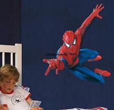 GRANDE 110 90cm SPIDERMAN Adesivi Da Parete Bambini Cameretta Ragazzi