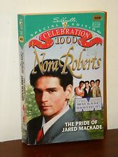 The Pride of Jared MacKade by Nora Roberts 1995 Paperback Silhouette SE #1000