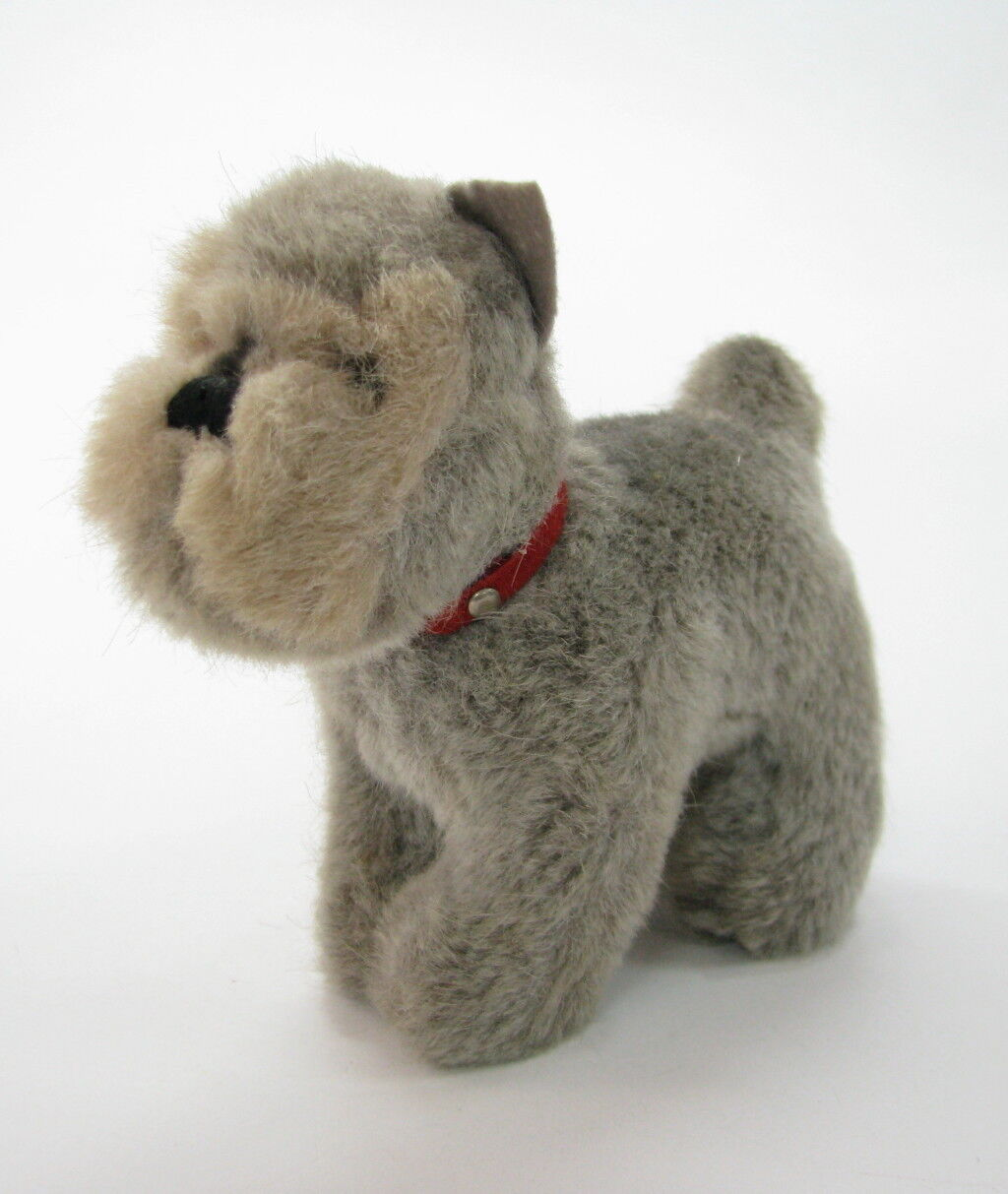 OLD GERMAN GERMANY STEIFF HARRO THE SCHNAUZER HARD STUFFED PLUSH TOY DOG x
