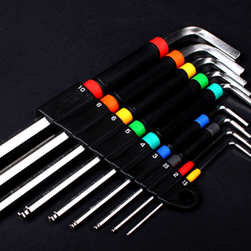 ANEX HB5009 - Speed Handle Hex Wrench 9pcs Set