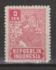 Indonesie Indonesia Java Madoera 28 MNH Japanse bezetting Japanese occupation