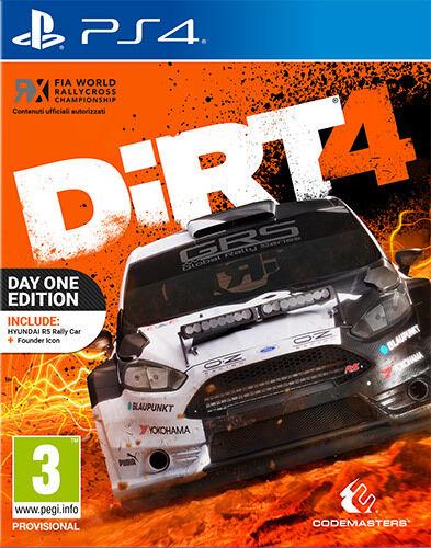 Dirt 4 Day1 Edition  - PS4 ITA - NUOVO SIGILLATO  [PS40534]