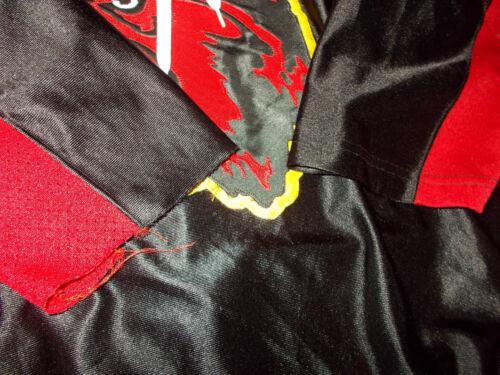 1990 Chemise Minnesota du Vtg Worn Game Used de Institute Wolfpack hockey Gemini OFIwWqdn