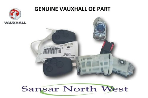 Brand New Genuine VAUXHALL VIVARO II-Allumage Barillet /& Clés Fob Porte Lock Set