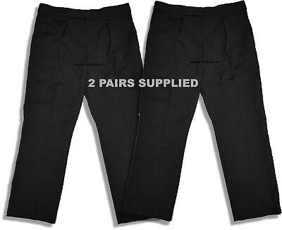 Konstruktiv 2 X Ex Police Trousers By Turner Virr / Work, Security Trousers, Doorman Black