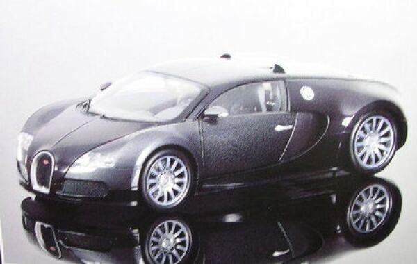 Bugatti Veyron (negro gris metallizzato) 2009