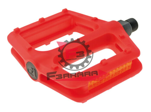 CP PEDALE FREERIDER ROT NYLON Fahrradteile & -komponenten