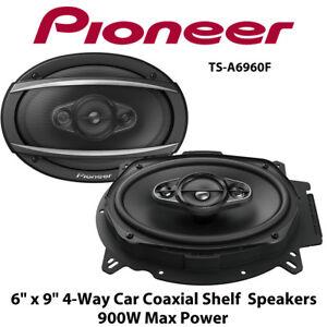 X Shelf 9 Coaxial Ts 6 Pioneer Car Speakers A6960f 900w 4 Way CoQdBErxeW