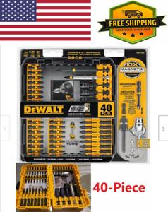 MAGNETIC-SCREWDRIVER-BIT-SET-Impact-Ready-Drill-Driver-Bits-40-Piece-Tool-Kit