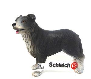 Nr-38-Schleich-16330-Border-Collie-unbespielt-alt-Schleichtiere-Schleichtier