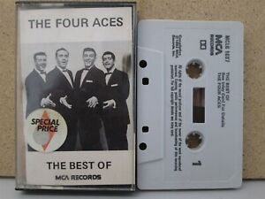 THE-FOUR-ACES-Best-of-MCA-Cassette-Tape-1982-Greatest-Hits-Perfidia-Heart-etc