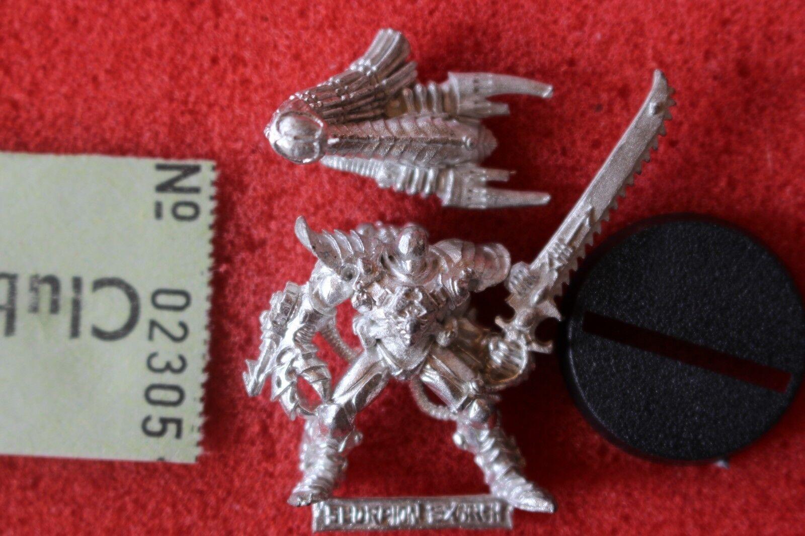 Games Workshop Warhammer 40k Eldar Phoenix Lord Karandras Metal Figure Scorpions