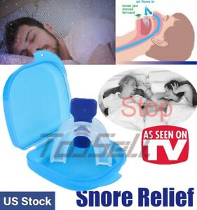 STOP-SNORING-Mouth-Guard-Aid-Mouthpiece-Sleep-Apnea-Bruxism-Anti-Snore-Grinding