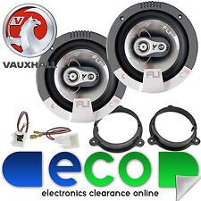 """Vauxhall Vivaro 2016 FLI 16cm 6.5"""" 420 Watts 3 Way Front Door Van Speakers"""