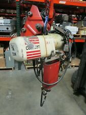 Coffing Jf1 Electric Chain Hoist Jf861 3 14 Ton 115230v 1ph 60hz Used