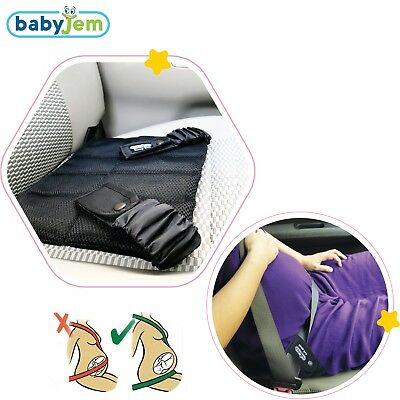 Baby Bump Seat Belt Pregnancy Car Maternity Miscarriage Safety Mothers Black