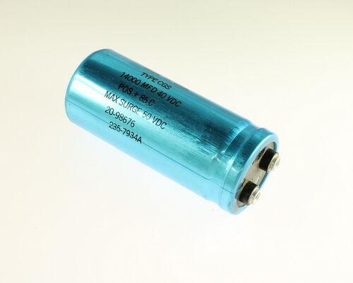 14000uF 40V Aluminum Electrolytic Large Can Capacitor CGS143U040V4C