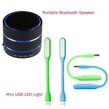 *Combo Offer* Portable Bluetooth Speaker + Flexible Mini USB LED Light