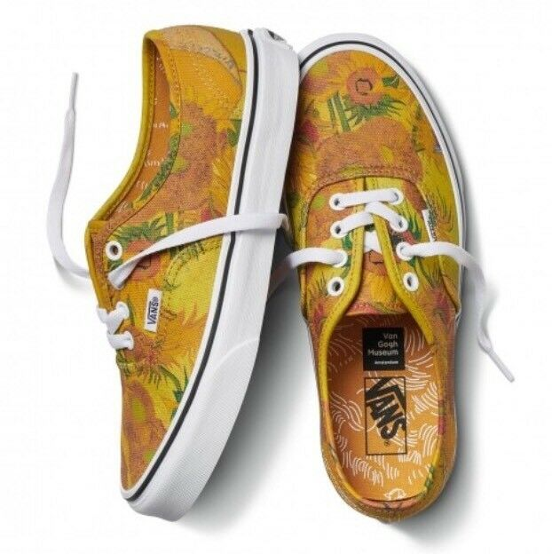 Vans Vincent Van Gogh Museum Sunflowers Authentic Sneakers Damens's Damens's Sneakers 5.5 e62e0b