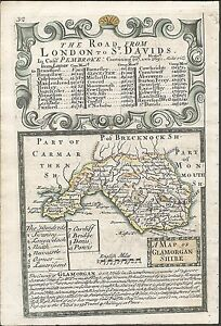 Antique-map-Glamorganshire-Road-from-London-to-Buckingham-3