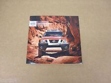 2012 Nissan Xterra X S PRO-4X 4x2 4x4 sales brochure dealer catalog