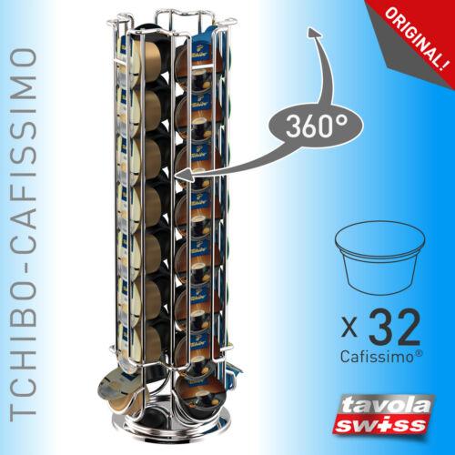 Tavolaswiss capsule donneur//capsule support Maestro pour 32 Cafissimo-Capsules pivotante