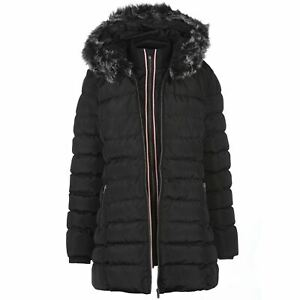 bf553417d Details about Kangol Womens Sports Bubble Jacket Puffer Coat Top Long  Sleeve Hooded Zip Full