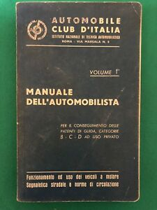 AA.vv. - Manuale dell'Automobilista vol.1 - 1960, ACI