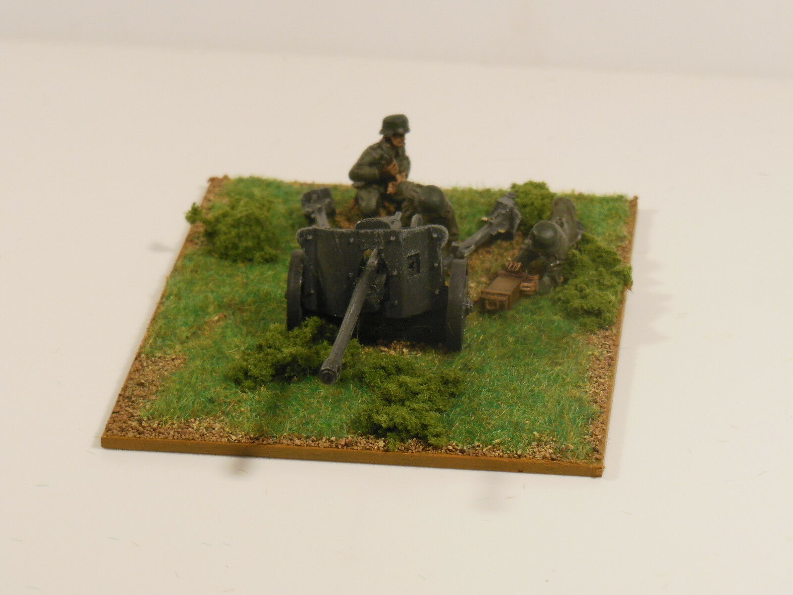 28mm Bolt Action Chain Of Command German Pak 38 5cm anti-tank gun  Painted