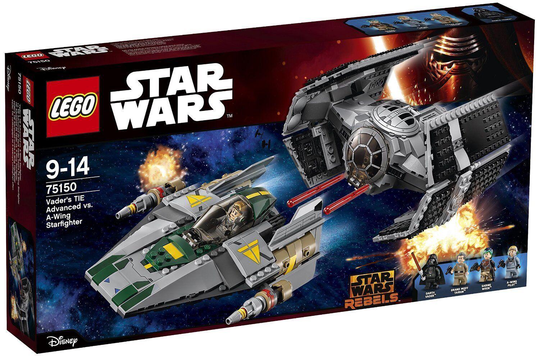LEGO STAR WARS VADER'S cravate ADVANCED VS. A-WING STARFIGHTER  75150 NUEVO SIN ABRIR  vente en ligne