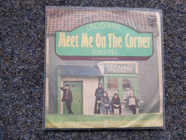 Lindisfarne - Meet me on the corner 7'' Single GERMANY