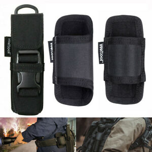 Weltool-Flashlight-Holster-Holder-Belt-Pouch-Molle-For-Maglite-Streamlight-Fenix