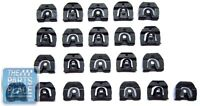1965-66 Gm B Body Rear Window Molding Clip Kit - 22 Pieces -
