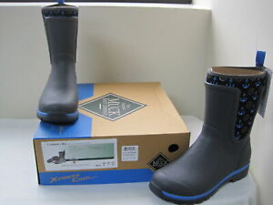 NEW-Womens-MUCK-Cambridge-Mid-WCM-1ANC-Gray-Blue-Anchors-W113-ss